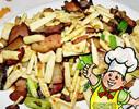 冬筍炒臘肉的做法