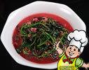 炒红苋菜的做法