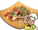 大蒜燒肚條的做法