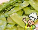 椒味荷兰豆的做法