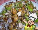 尖椒炒刀蜆的做法