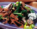 韭菜炒羊肝的做法