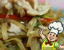 榨菜炒肉丝的做法
