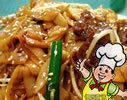 越南生牛肉炒河粉的做法